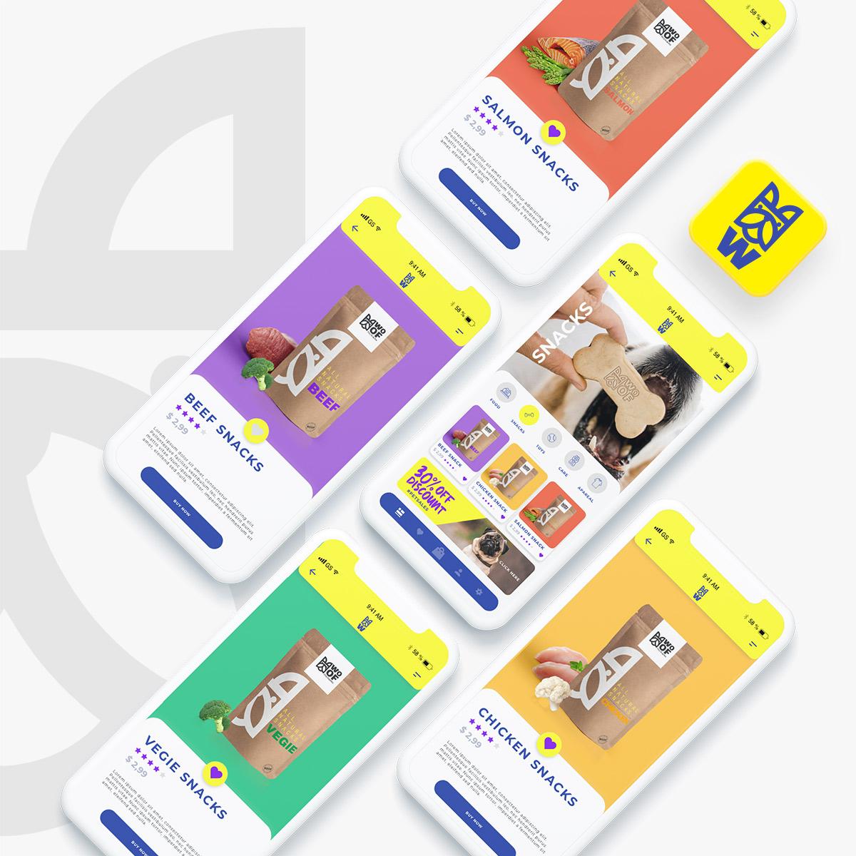 pet-app-designg-ui-design